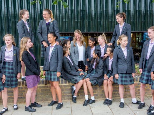 LONDON - UK - 12th June 2018. Streatham & Clapham High School Main shot.Photograph by Ian Jones Photography Credit: Ian Jones